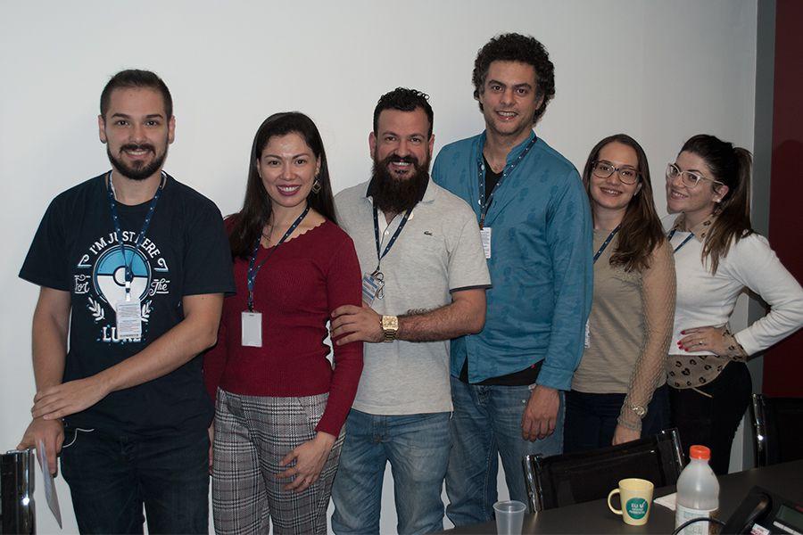 Diretor de Inovação acolhe colaboradores na edição de maio do Café com a Diretoria